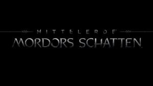 Das Cover von Mittelerde Mordors Schatten ist bewusst schlicht und düster. gehalten.