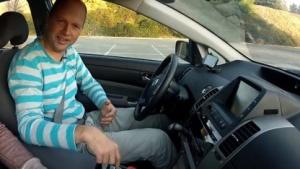 Sebastian Thrun im autonomen Google-Auto: zu hohe Absprungrate
