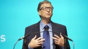 Bill Gates am 19. November 2013 auf der Aktionärsversammlung