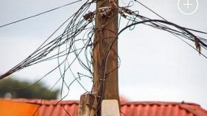 Telefonmast in Kampala