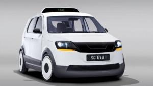 E-Taxi Eva: Jeder Insasse wird inidviduell gekühlt.