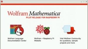 Die drei Komponenten von Mathematica auf dem Pi
