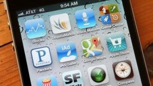 Apps auf einem iPhone