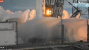 Trägerrakete Falcon 9: Startabbruch nach Ende des Countdowns