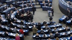 Sollen nur noch geschützt kommunizieren: Abgeordnete des Europäischen Parlaments in Straßburg