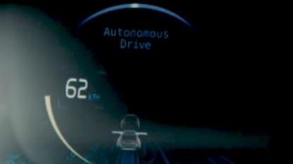 Der Wagen zeigt an, in welchem Modus er fährt.