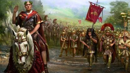 Artwork von Cäsar in Gallien