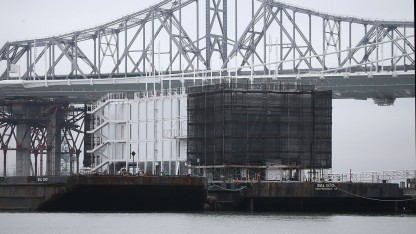 Google Barge vor San Francisco: genervte Behörde