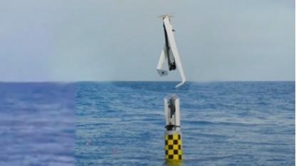Start des XFC UAS: abgeschossen in Kapsel für Marschflugkörper