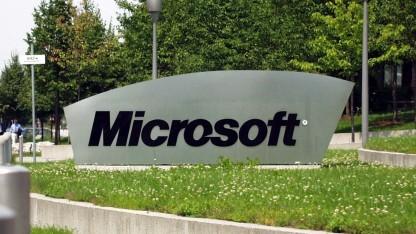 Der Microsoft-Schriftzug
