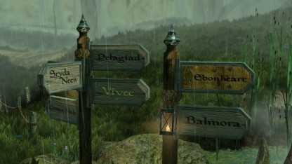 Wie in Morrowind startet der Spieler auch in Skywind in Seyda Neen.