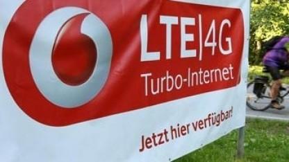 Werbung von Vodafone