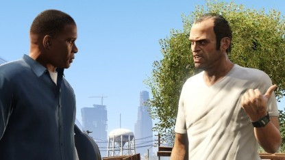 Franklin und Trevor in GTA 5