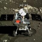 Chinesische Mondmission: Der Jadehase rollt