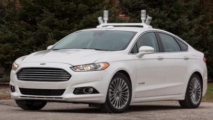 Ford Automated Fusion Hybrid Research Vehicle: Staus und Unfälle verhindern, Umwelt schützen