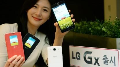 Das neue Android-Smartphone Gx von LG