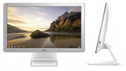 Die Chromebase von LG mit Chrome OS im AIO-PC