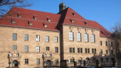 Nürnberger Gerichtsgebäude