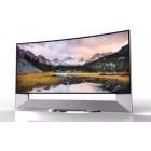 LG: Gewölbter Fernseher mit 2,66 Metern Bilddiagonale