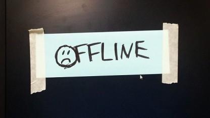 Offline - etliche Internetdienste wurden 2013 aufgegeben.