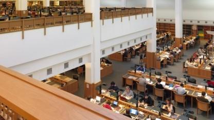 Lesesaal der British Library: Jahrelanger Streit zwischen den Bibliotheken und Verlegern