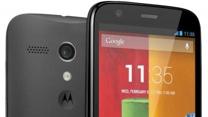 Das Moto G erhält ein Update auf Android 4.4.