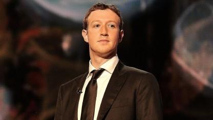 Mark Zuckerberg bei einer Preisverleihung am 12. Dezember 2013.