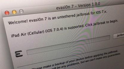 Evasi0n7 - der Jailbreak für iOS 7