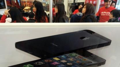 Das iPhone 5 in einem Geschäft in Taiwan