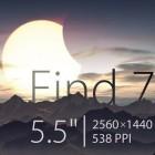 Oppo Find 7: 5,5-Zoll-Smartphone mit 2.560 x 1.440 Pixeln