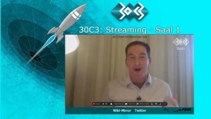 Glenn Greenwald hat die Keynote auf dem 30C3 gehalten.