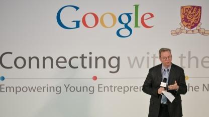 Google-Aufsichtsratschef Eric Schmidt