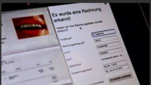 Werbung für die neue E-Postbrief-Funktion