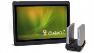 Concepts Tablet-PC bietet zwei Akkus.