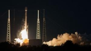 Start der Falcon 9v1.1: hoch hinaus gelangt