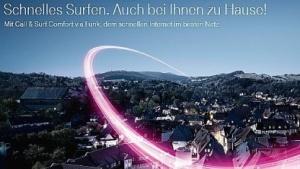 """Werbung für """"Call & Surf Comfort via Funk"""""""