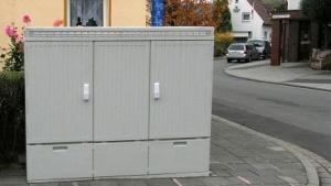 DSLAM-Kabelverzweiger der Deutschen Telekom