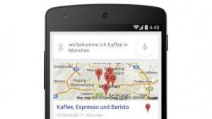 Google-Suche versteht und spricht deutsch.