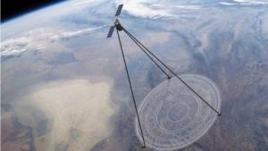 Satelliten mit Membranenteleskop (Konzept): 40 Prozent der Erdoberfläche