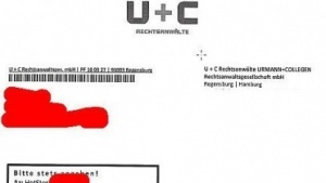 Der Abmahnbrief der Rechtsanwaltskanzlei Urmann + Collegen