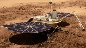 Marslander: ähnelt der Raumsonde Phoenix
