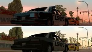 Grafikvergleich GTA San Andreaså