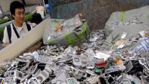Verschrottete Handys in Südkorea