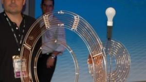 Drahtlose Stromübertragung mit 60 Watt von Intel im Jahr 2008