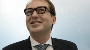 Internetminister ohne Internet: Noch-CSU-Generalsekretär Alexander Dobrindt