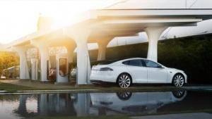 Stromtankstelle von Tesla