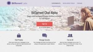 Alphabets von Bittorrent Chat startet