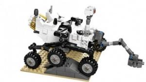 Marsrover Curiosity aus Lego: Entwurf bei Cuusoo eingereicht