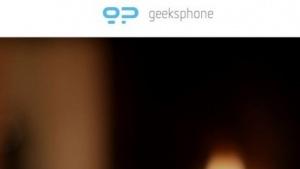 Geeksphone will Smartphone Revolution bis Ende März 2014 auf den Markt bringen.