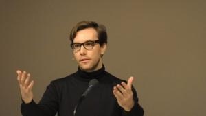 Jacob Appelbaum auf dem 30C3